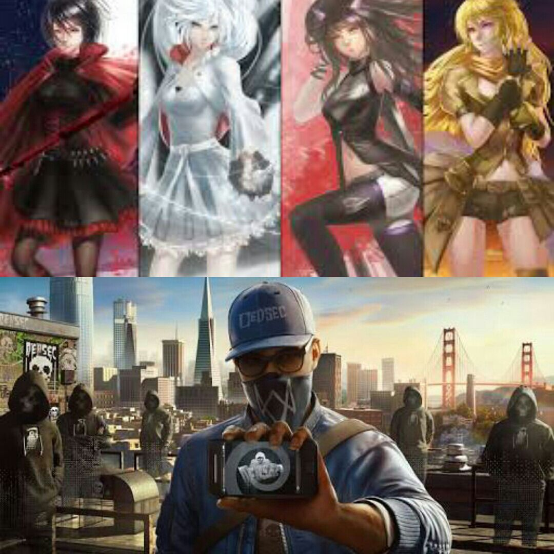 Male Reader X Fem Various Oneshots  - RWBY X Male WatchDogs