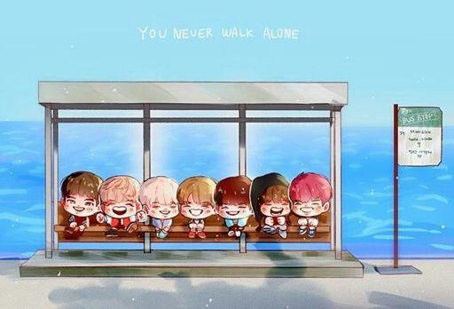 Bts Hd Photo You Never Walk Alone Wallpaper Wattpad