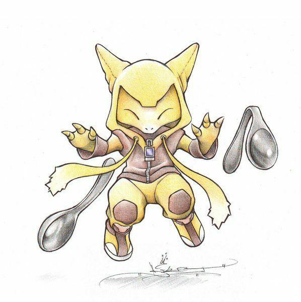 Abra Kadabra Alakazam Pokemon Images