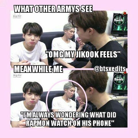 Bts Memes What Did Namjoon Watch Wattpad
