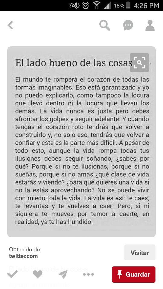 Frases El Lado Bueno De Las Cosas Wattpad