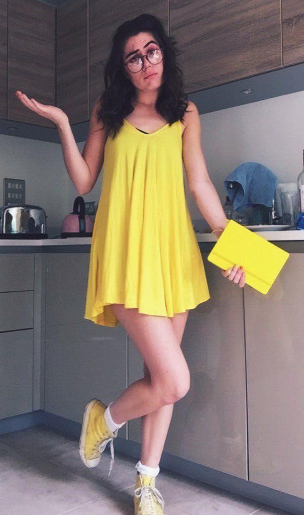 The Girl In The Yellow Dress Dodie Clark Fanfic Girlxgirl Jump Wattpad