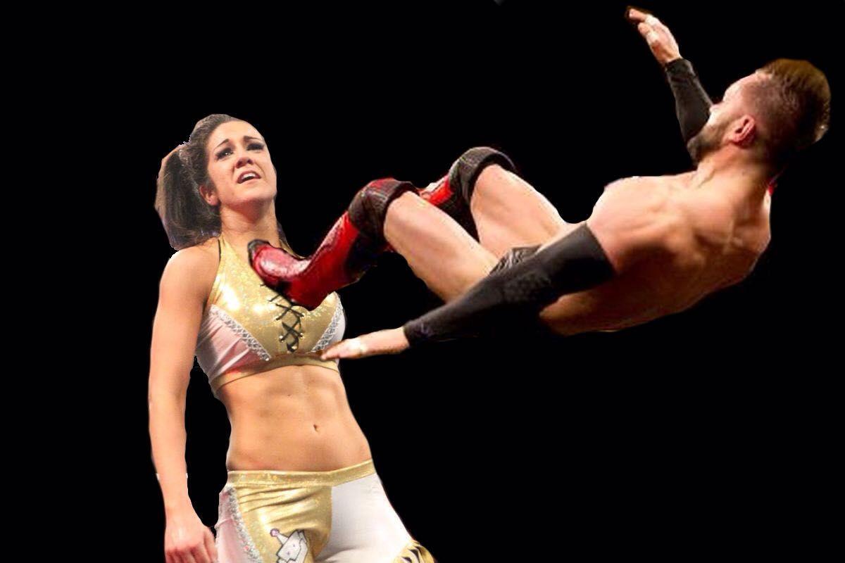 Wwe naked bayley Bayley WWE,