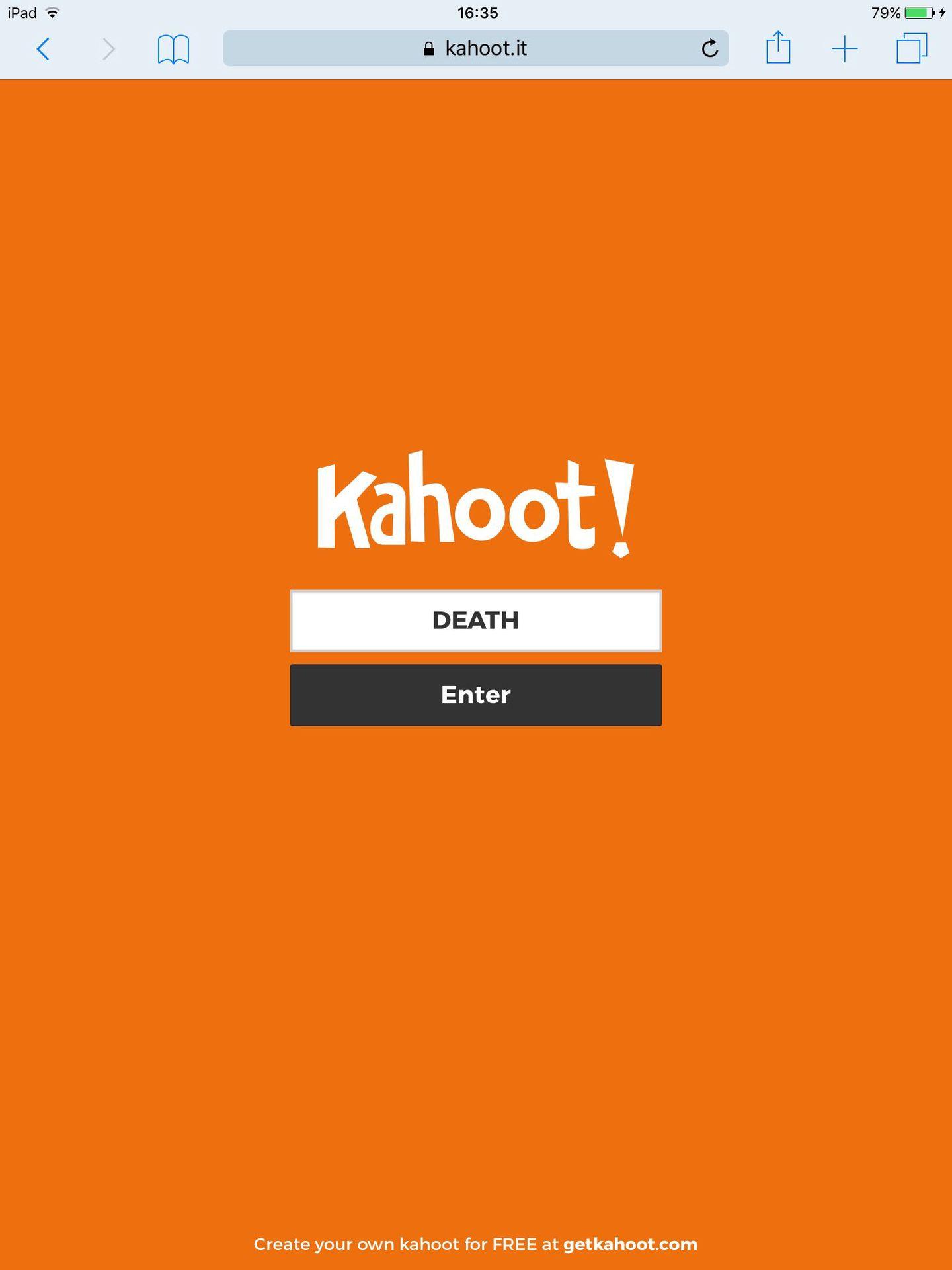 Kahoot killer