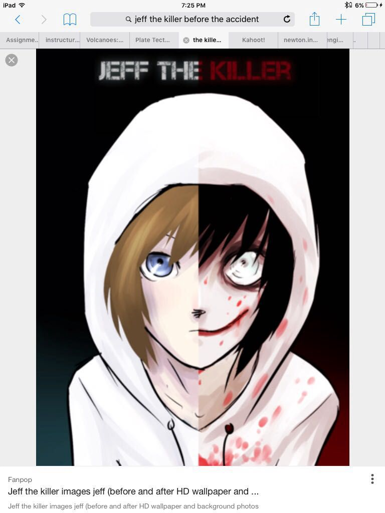 The Story The Story Of Aella Valda Crest Jeff The Killer