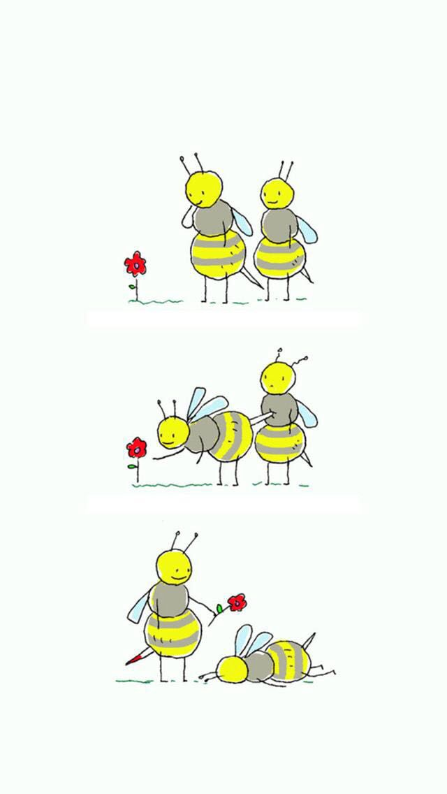 bee pick up lines