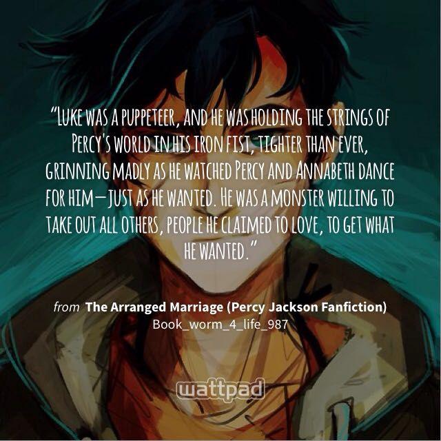 The Arranged Marriage (Percy Jackson Fanfiction) - Thirteen - Wattpad