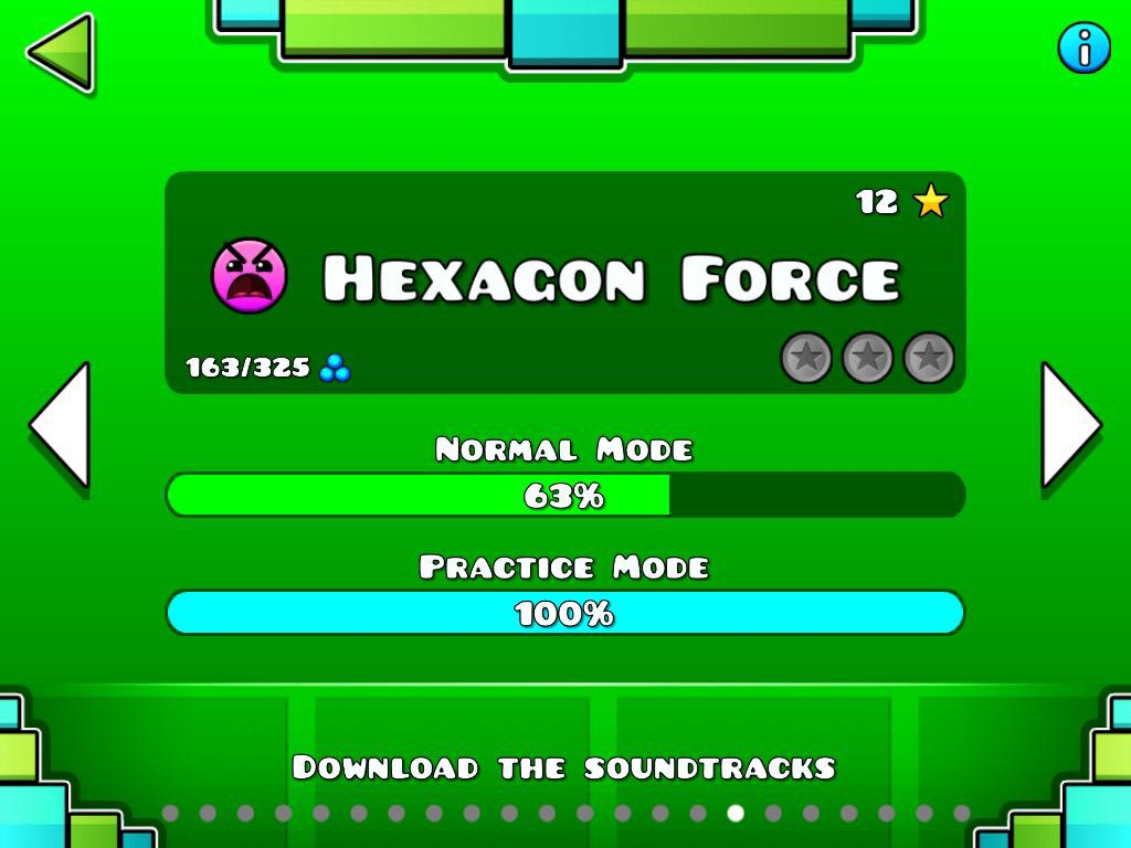 The levels of geometry dash!! - HEXAGON FORCE - Wattpad