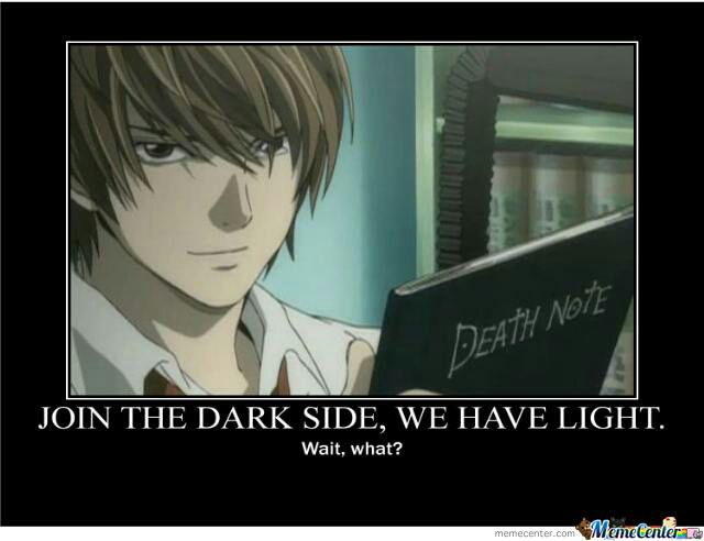 Funny Anime Quotes Death Note Wattpad