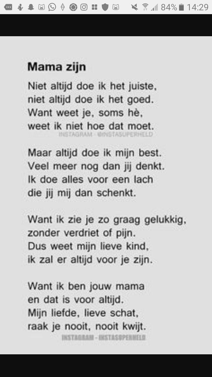 Iets Nieuws Gedichten van het leven - Een moeder - Wattpad #TI69