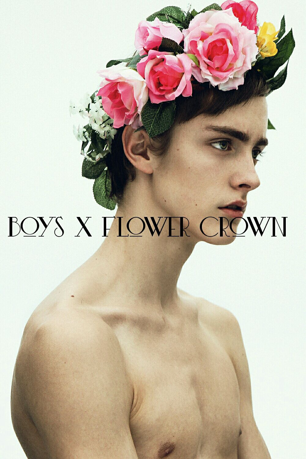 Templates For Covers Pictures Boys X Flower Crown Wattpad
