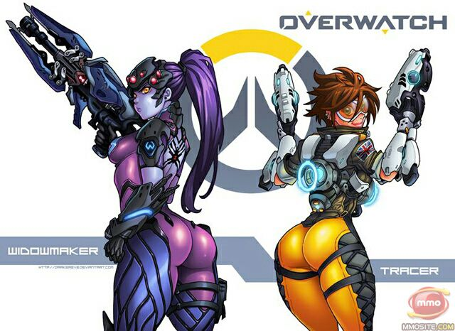 Male Reader x Fem Yandere Various 2 - Tracer, Widowmaker and Sombra