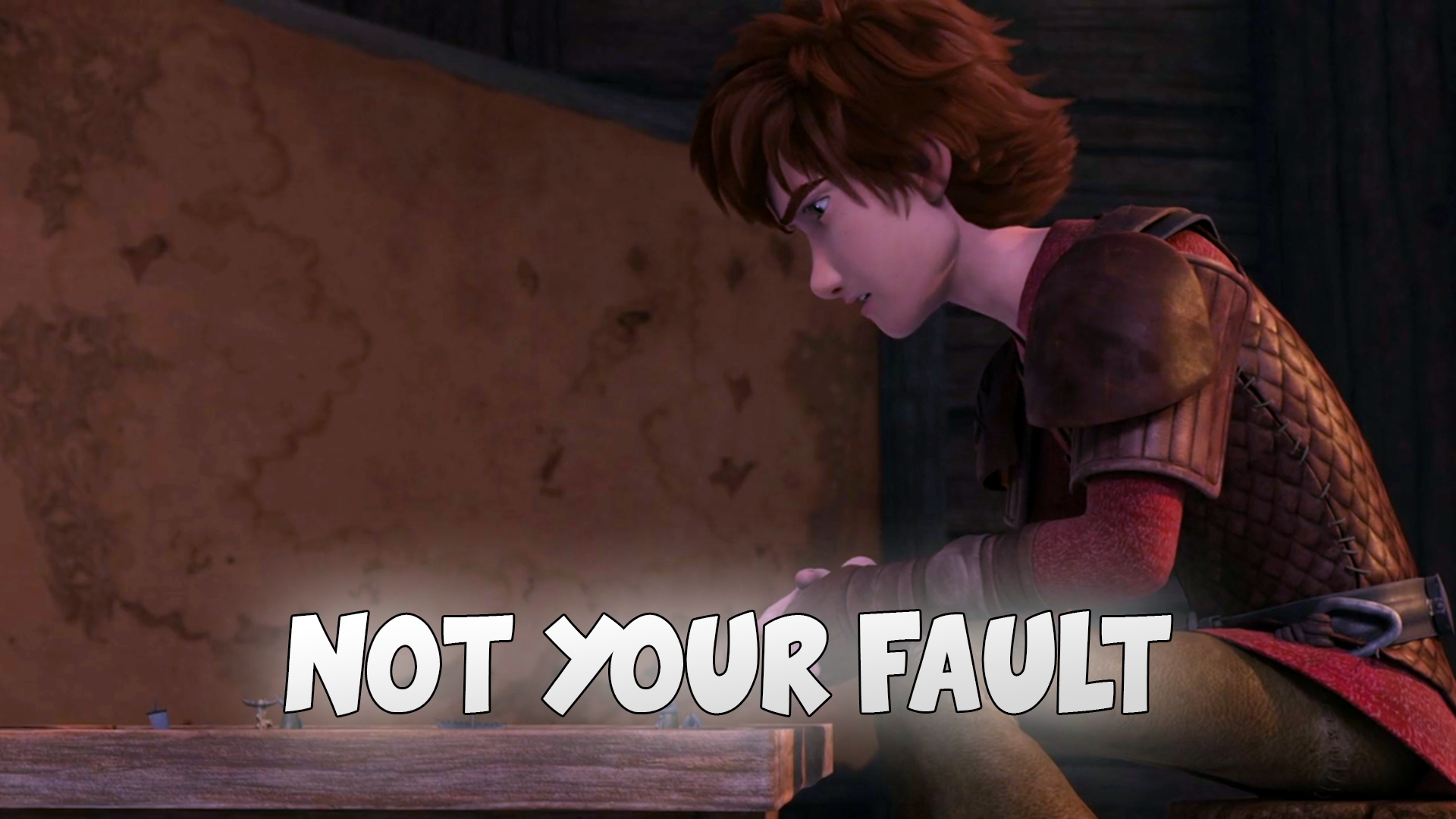 How To Train Your Dragon: One-Shots - Not Your Fault - Wattpad