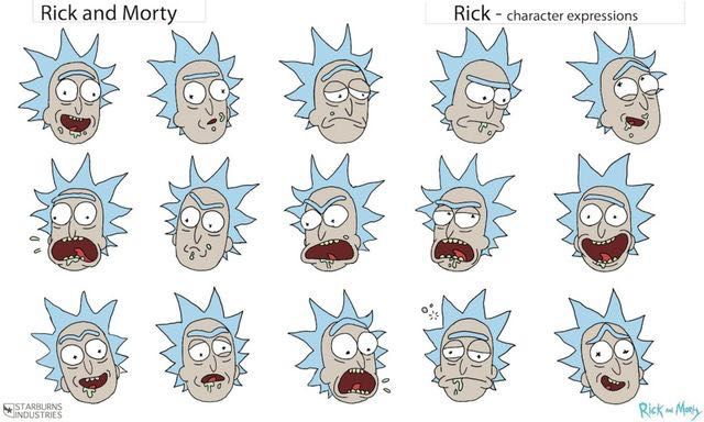 the book of rick and morty rick faces wattpad