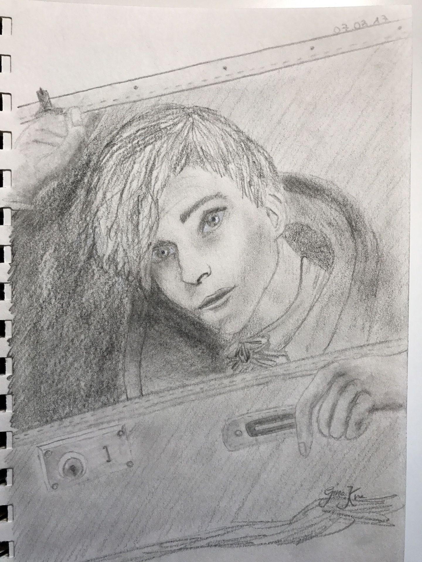 my drawings - newt scamander (harry potter) - wattpad