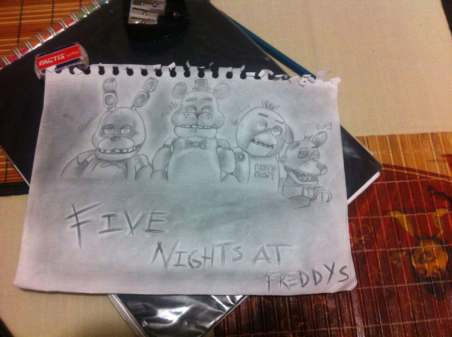 Los Dibujos De Nadie Especial 3 Five Nights At Freddys Wattpad