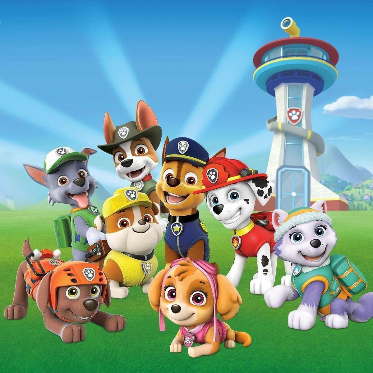 Paw Patrol Chase x Oc - Chapter 1: First meeting - Wattpad Rupert Bear Nick Jr