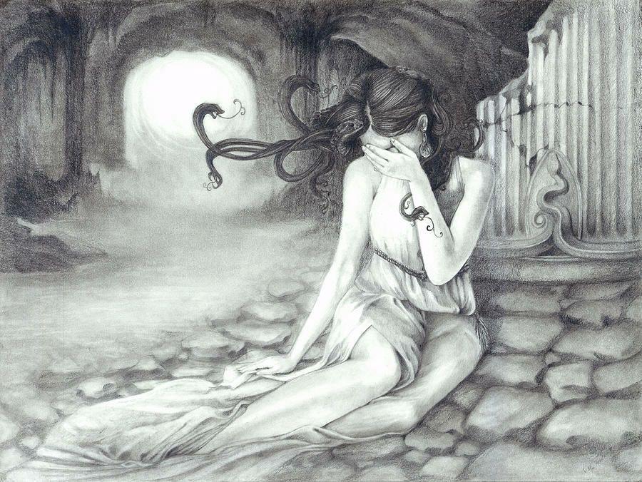 Medusa - Poseidon's violence, Athena's pity - Wattpad
