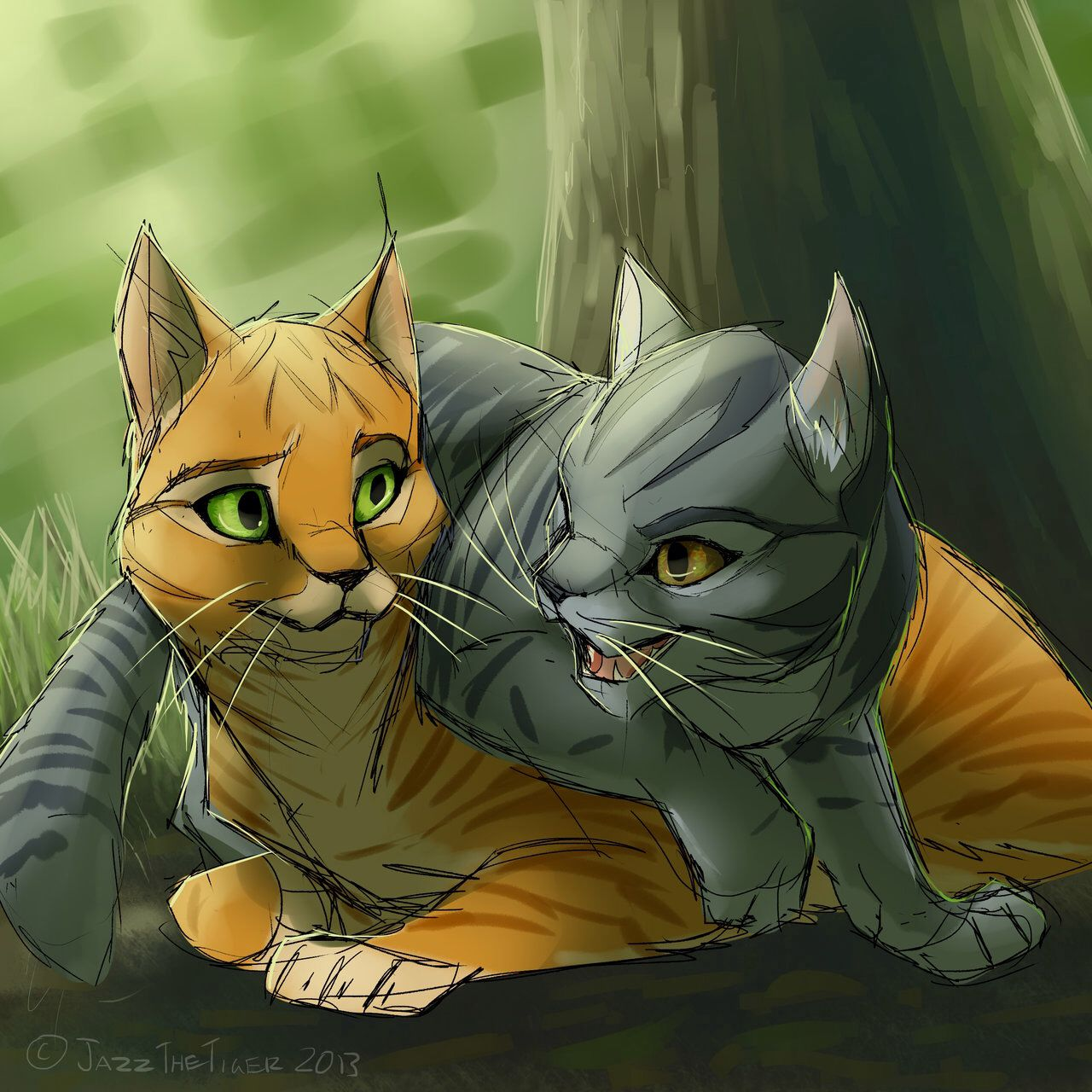 Warriors Fire And Ice Word Count: Fireheart X Graystripe