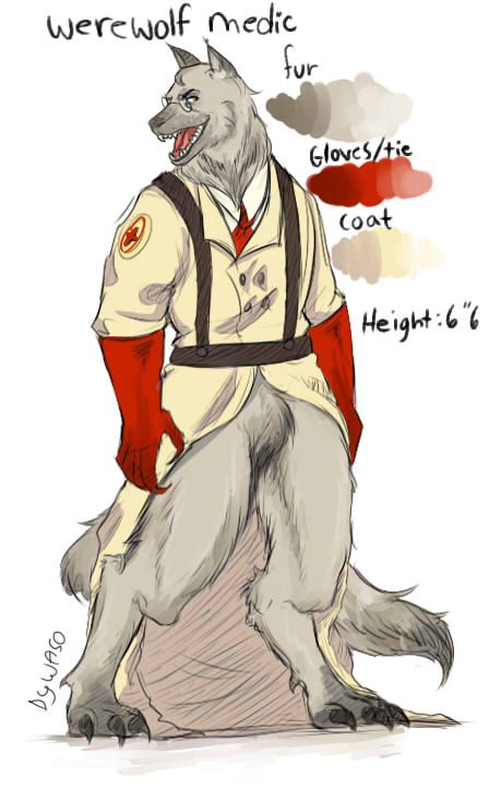 Tf2 Medic oneshots (REQUESTS CLOSED) - (LEMON)Werewolf
