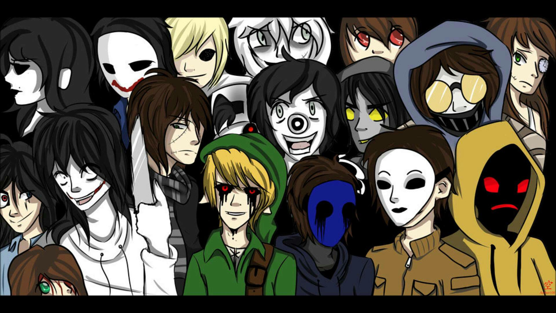 Creepypasta Headcanons Heights Wattpad