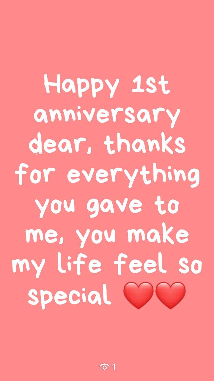 Diary Hati Happy 1st Anniversary Wattpad