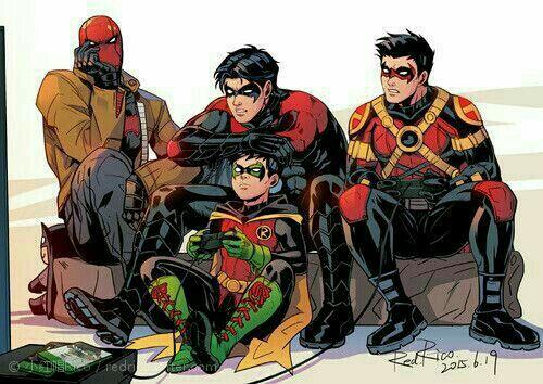 DC Comics Imagines 2 *Editing* - Damian Wayne x Witch Reader