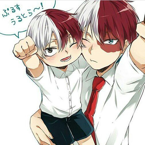Anime character various x reader - Cute Child-Daddy!Todoroki
