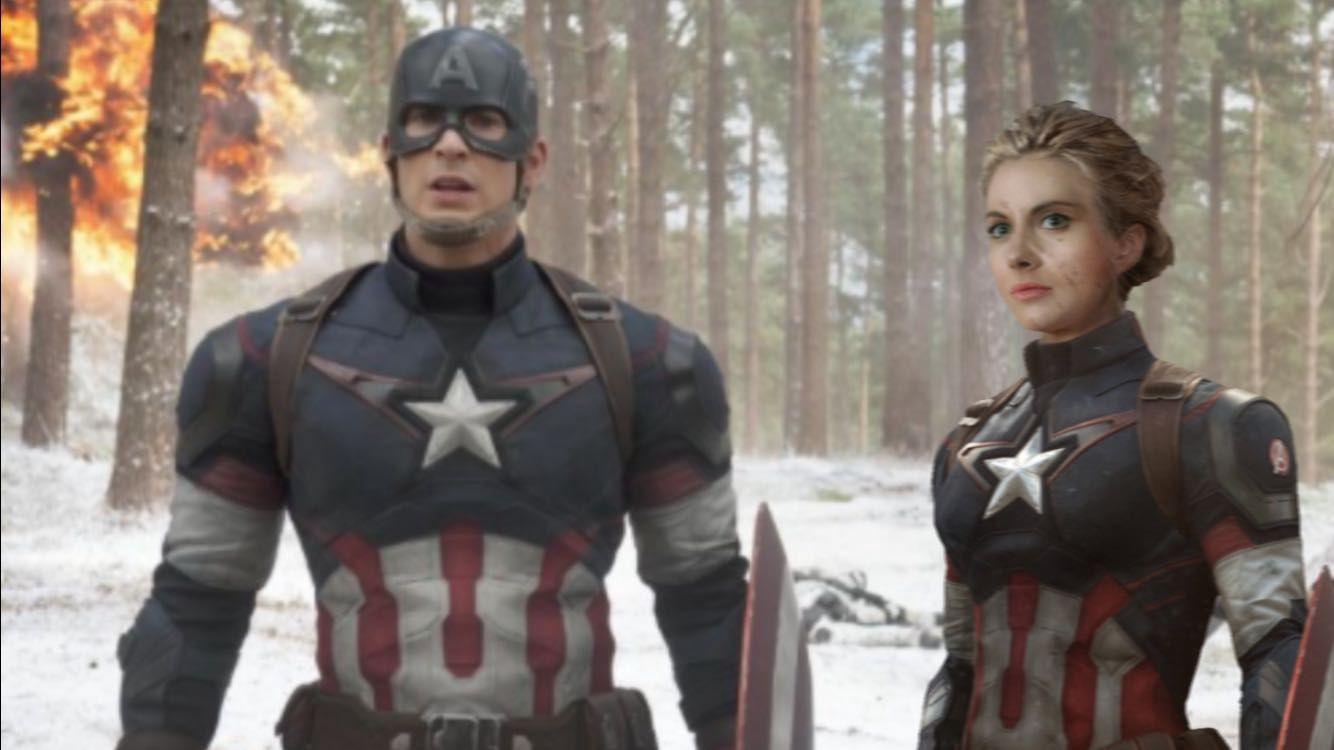 AVENGERS| The Young Avengers - Laura Rogers AKA Captain