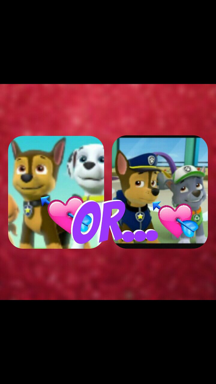 Which ship is better? (Paw Patrol) - Gay Ships? (Can skip
