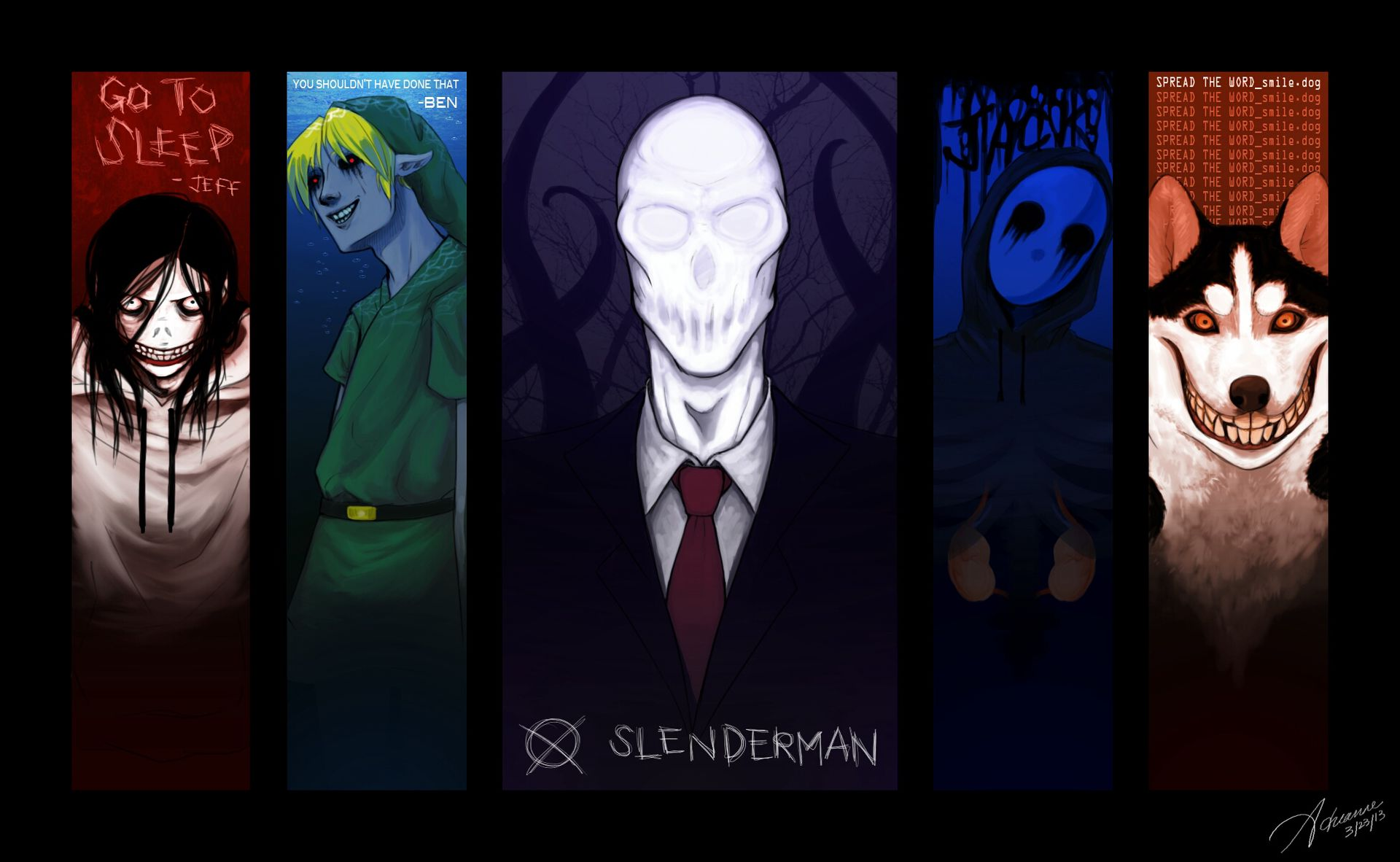 Creepypasta Boyfriend Scenarios - How You Met - Wattpad