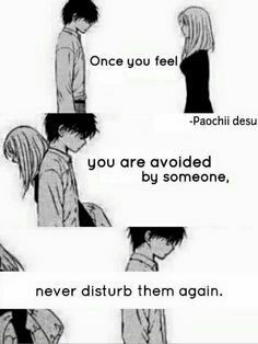 Sad Anime Quotes Once You Feel Wattpad