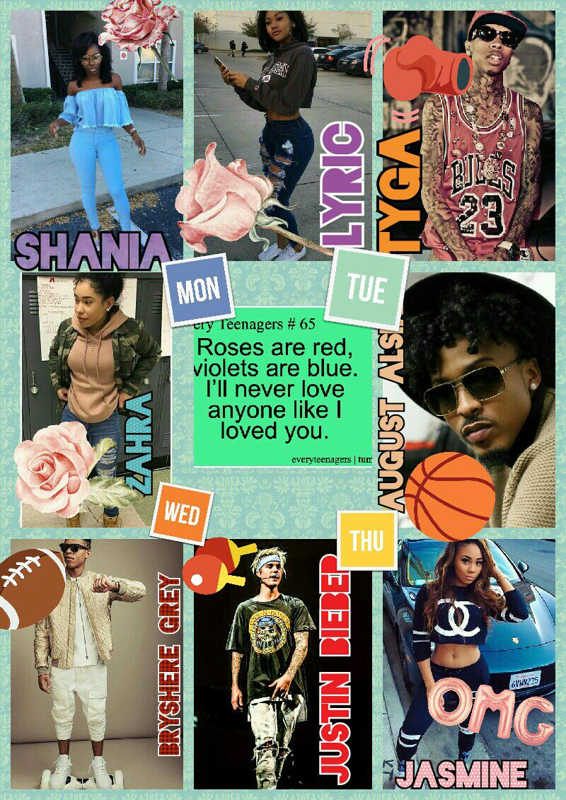 Teen Love Bryshere Grey August Alsina Justin Bieber Tyga Love Story There House Wattpad