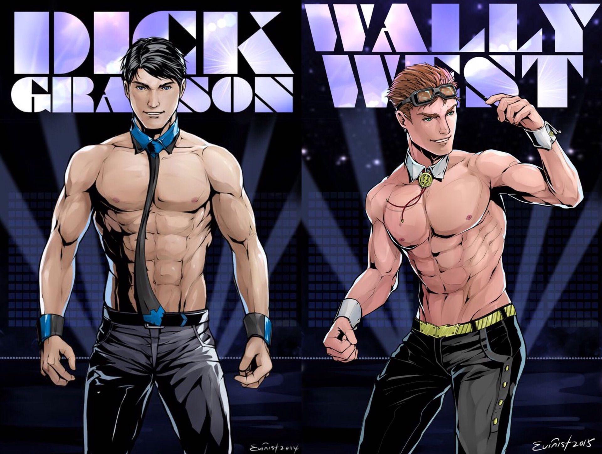 NSFW* Bat boys oneshots and preferences - Dick Grayson X