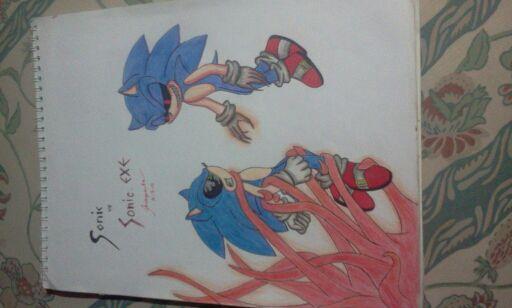 MY DRAWINGS - Sonic vs Sonic EXE - Wattpad