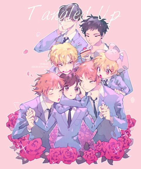 Tangled Up• Ouran Host Club x Depressed! Music Shifter! Pastel Goth