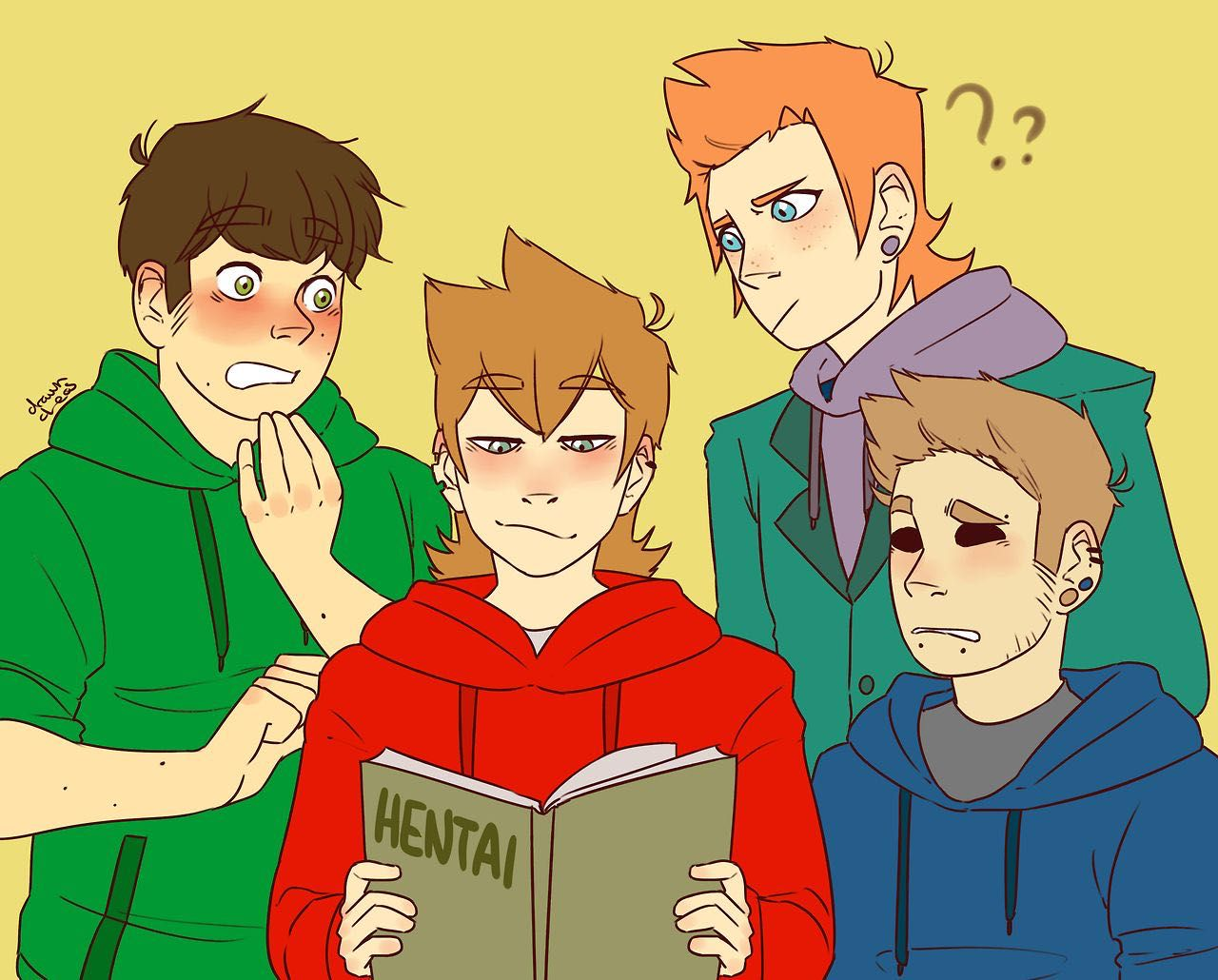 Eddsworld Edd X Tord – HD Wallpapers