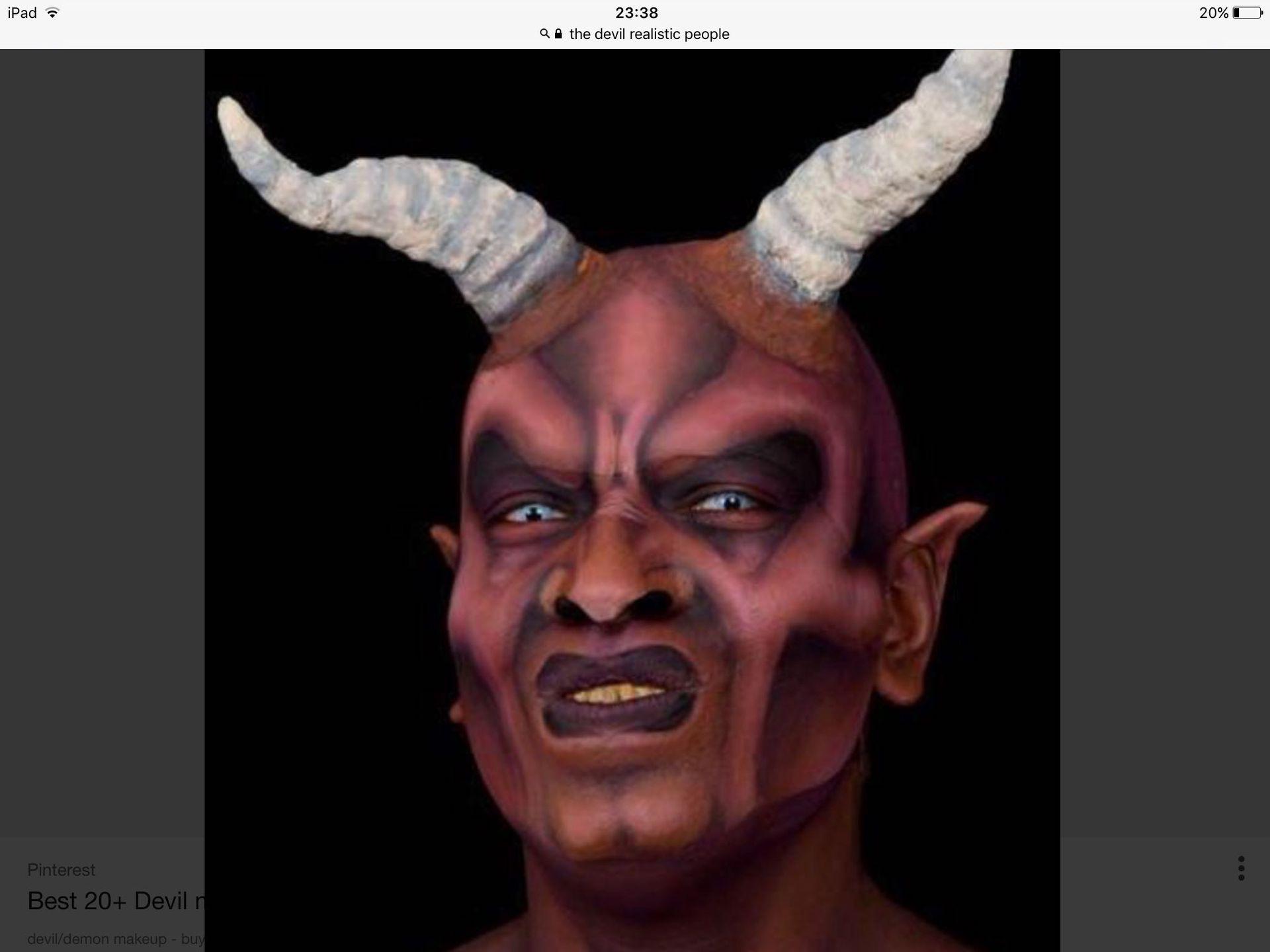 Do Devil Makeup Male Saubhaya