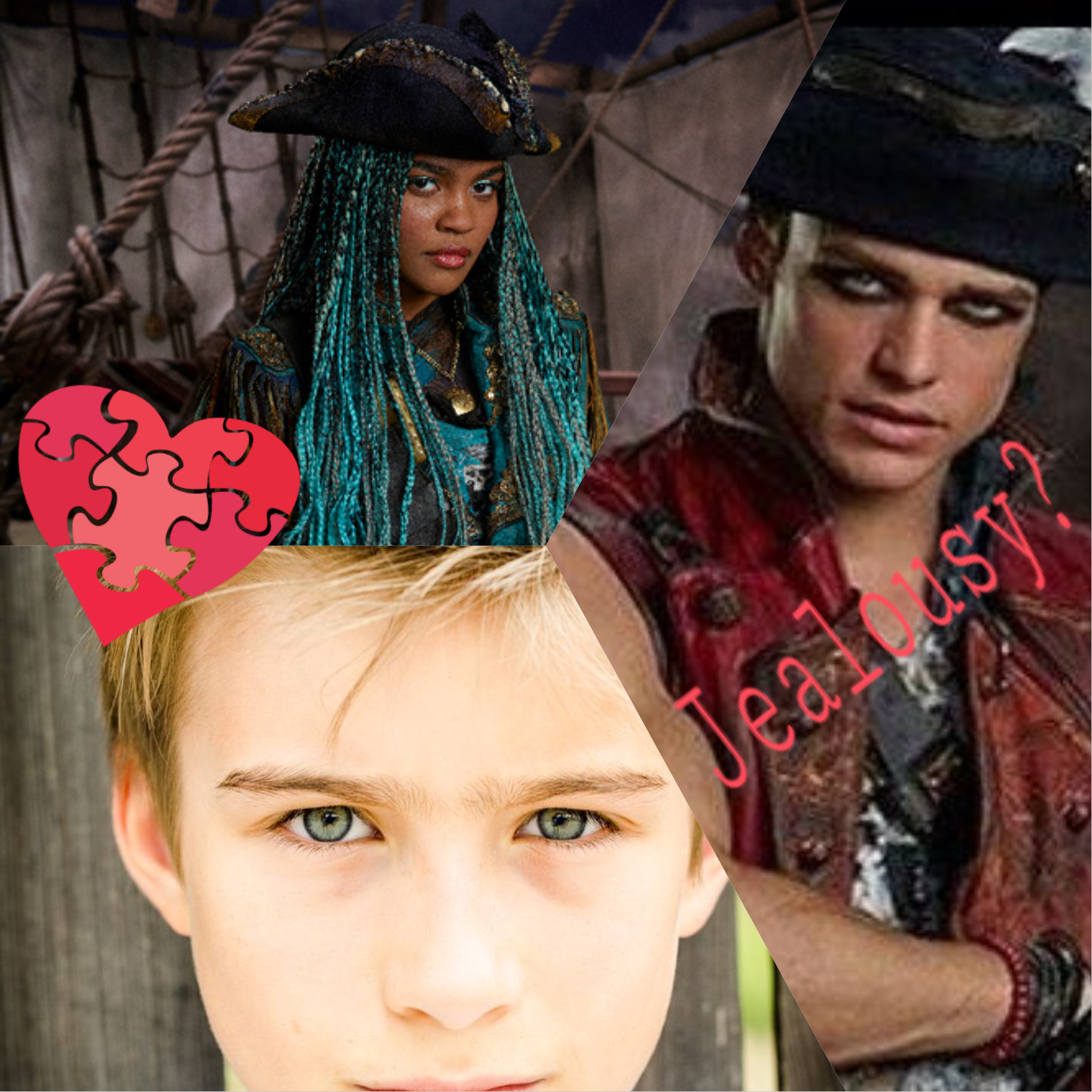 Leader of the pirates (Harry Hook x Reader)[Descendants] - Shoulder