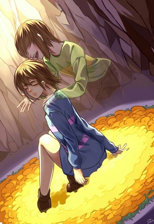 Frisk, Chara, and Betty X Reader one shots! - Geno! Formally