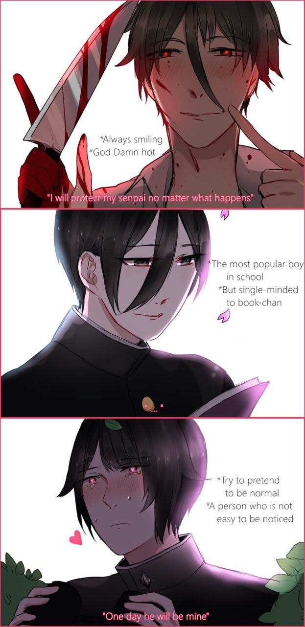 Emotional Genderbent? - (A Yandere-chan X Male!Rivals Fanfic