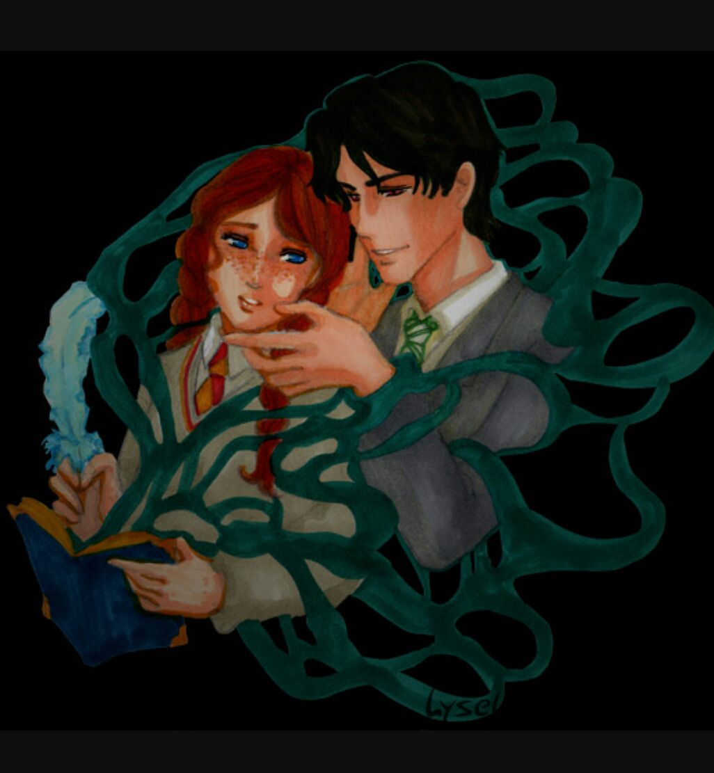 Harry Potter Ships - Voldinny (Tom Riddle x Ginny Weasley ...