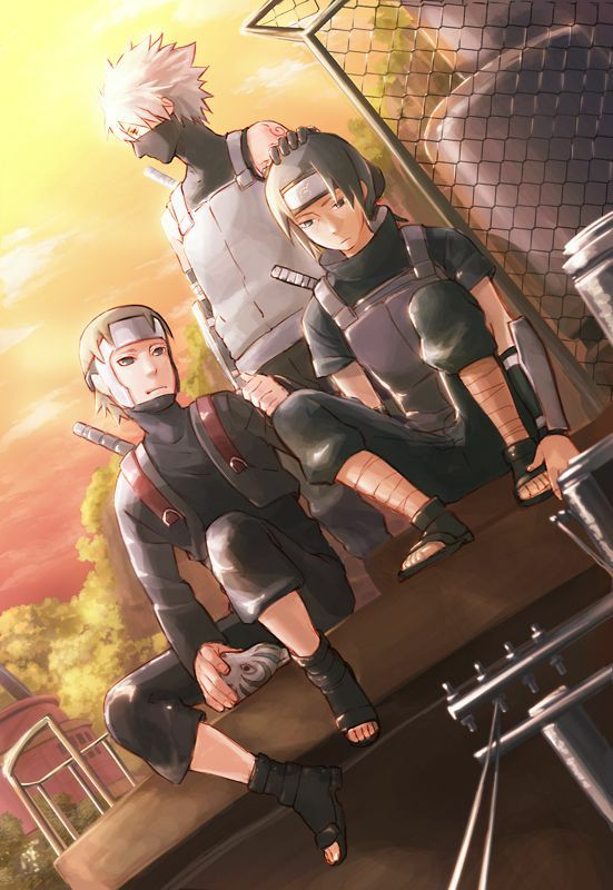 Naruto - Hidden Talents - The Anbu and Kyuubi Apperance ...