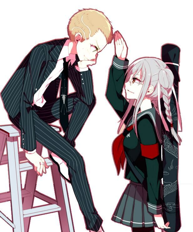 Dangan ronpa one shots - Fuyuhiko x peko ( LEMON): favourite yakuza