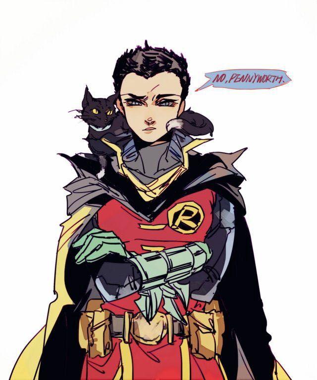 Bat Boys x reader One Shots - Damian Wayne/Robin x Shy