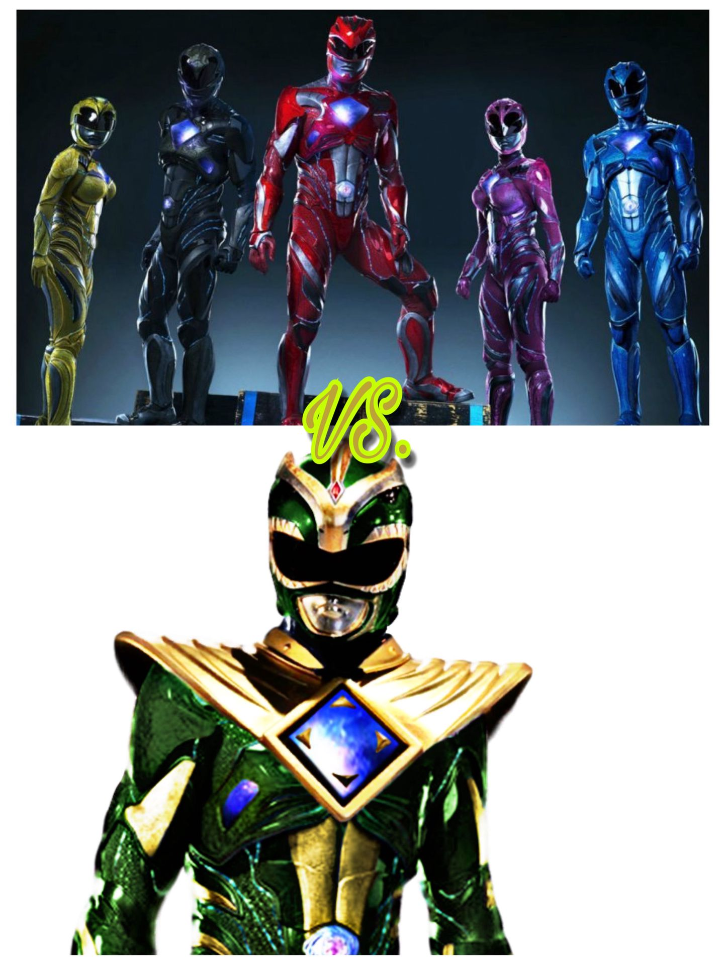 Green With Evil: Power Rangers {UNDER CONSTRUCTION} - Eleven - Page