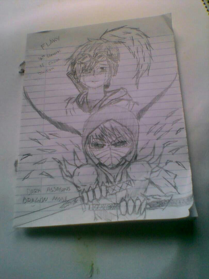 female various x male reader - Dark assassin x flaky (lemon