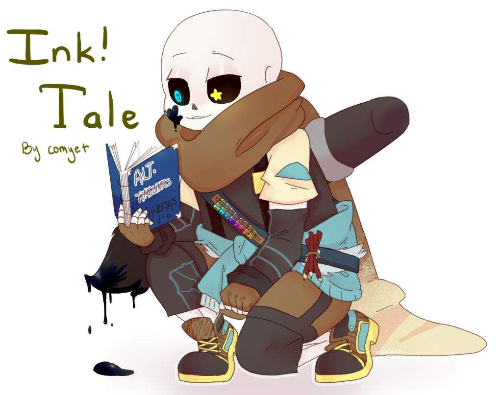 Undertale OneShots - They're longing for you - Ink!Sans x