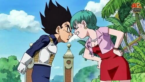 Bulma Chichi Dbz Dragonballsuper Dragonballz Fanfiction Goku Krillin Romance Vegeta
