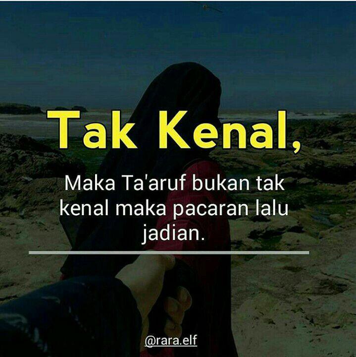 Keep Istiqomah Tak Kenal Maka Ta Aruf Wattpad